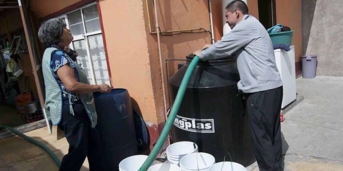 Se reduce más de 400% la disponibilidad de agua en México