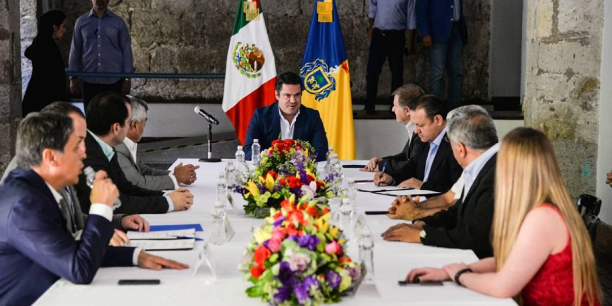 Firman pacto de civilidad partidos de Jalisco, Morena y MC desairan el acuerdo
