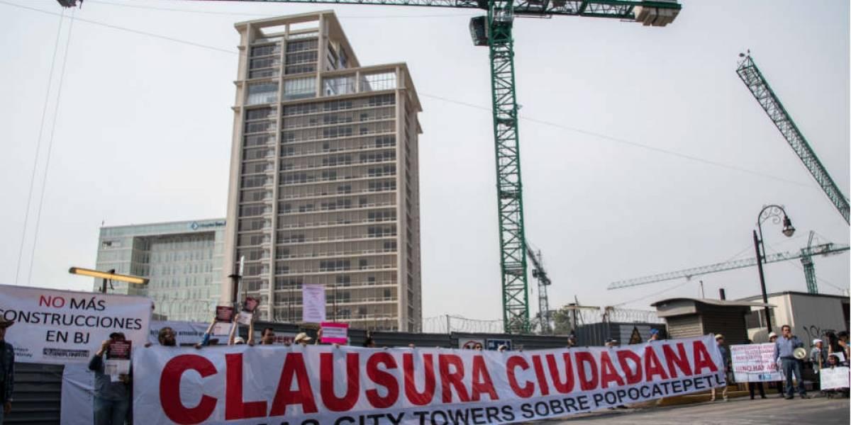 El boom inmobiliario que agrava la crisis del agua en la CDMX