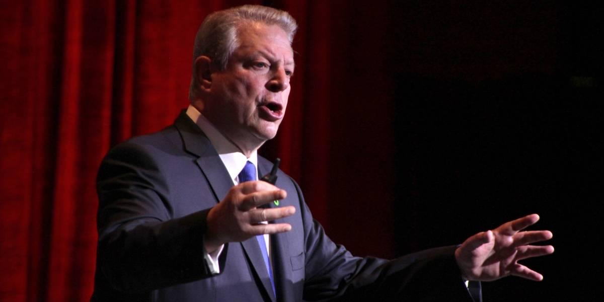 Zavala comparte con Al Gore propuestas sobre cambio climático