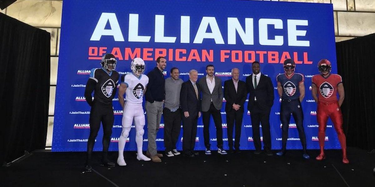 NFL responde a la XFL con la Alliance of American Football