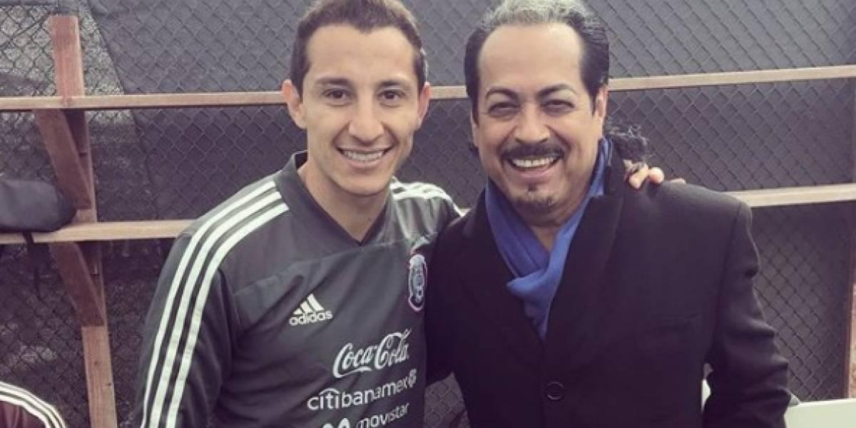 Andrés Guardado presume foto con el 'Jefe de Jefes'