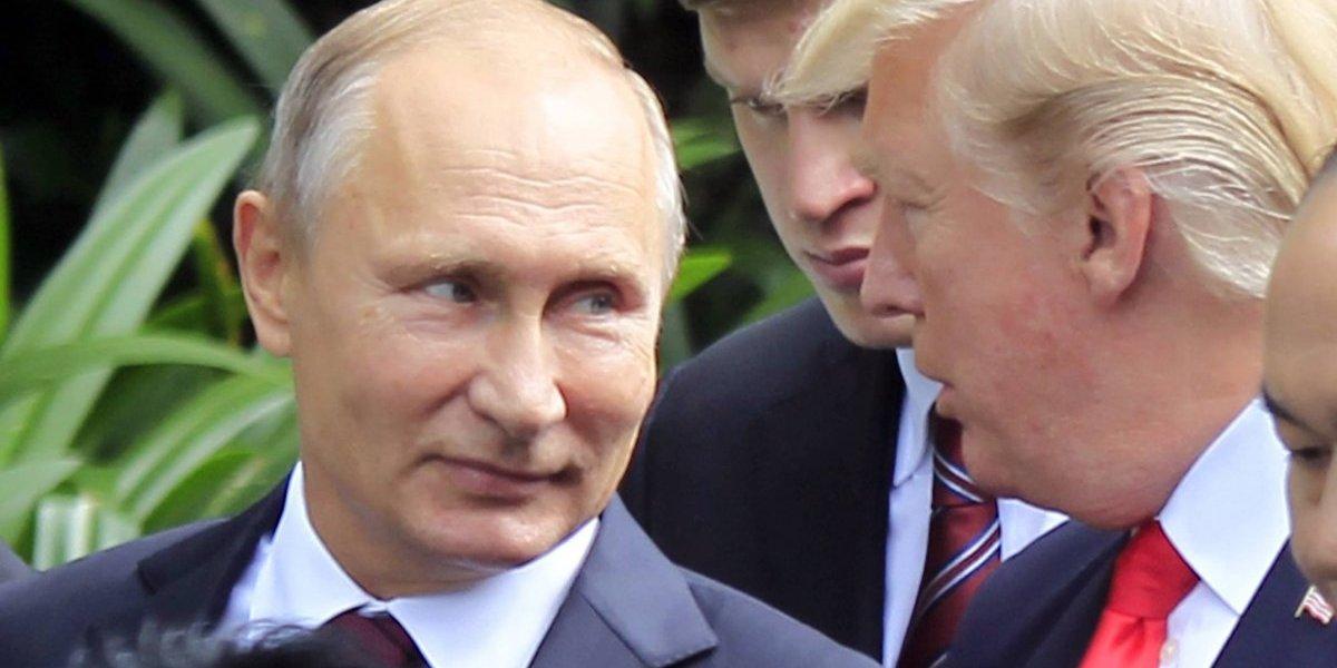 """Asesores le pidieron a Trump """"no felicitar"""" a Putin; hizo todo lo contrario"""