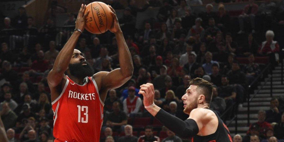 Rockets cortan racha de triunfos de Blazers