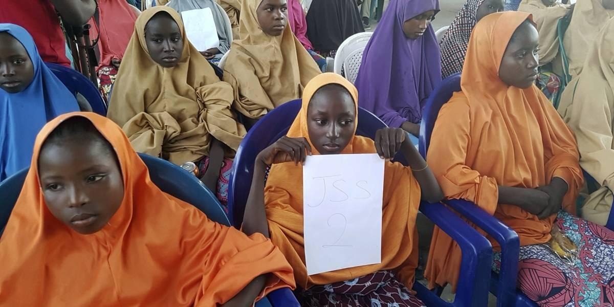 Boko Haram libera en Nigeria a 105 niñas secuestradas en febrero