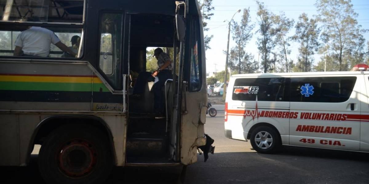 Disparan contra bus de la ruta 203 en el Periférico
