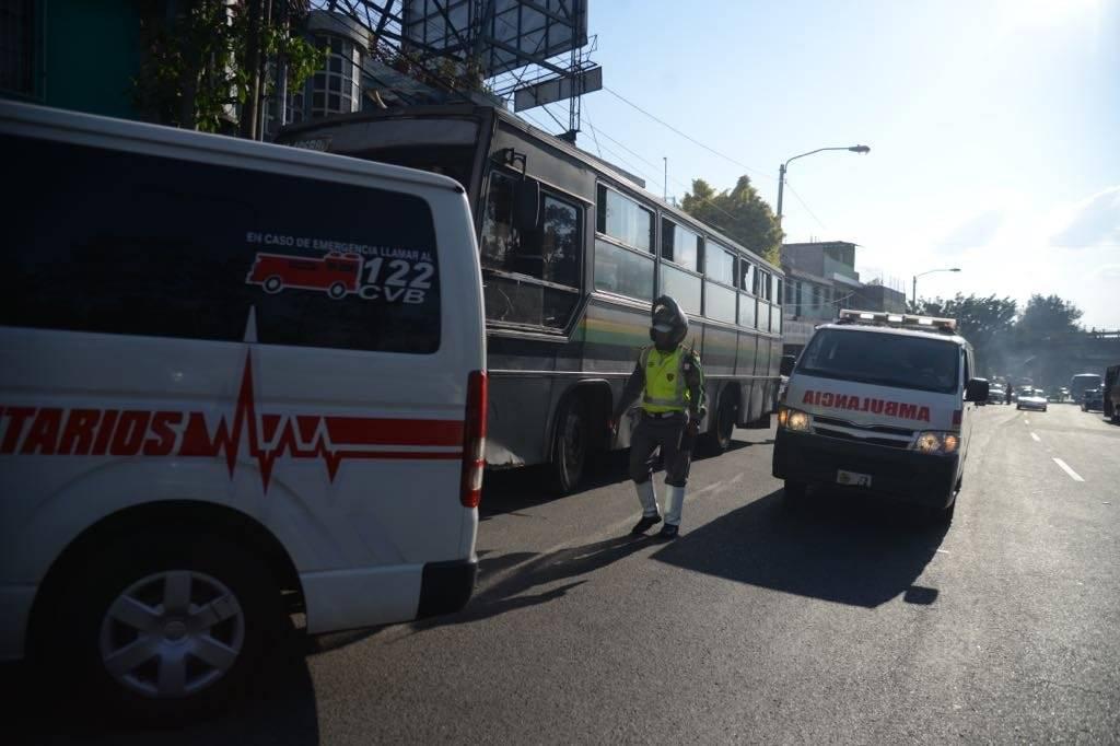 ataque contra bus ruta 203