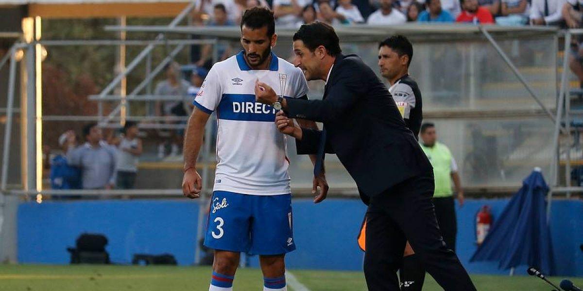 Germán Voboril es duda en la UC para el clásico ante Colo Colo
