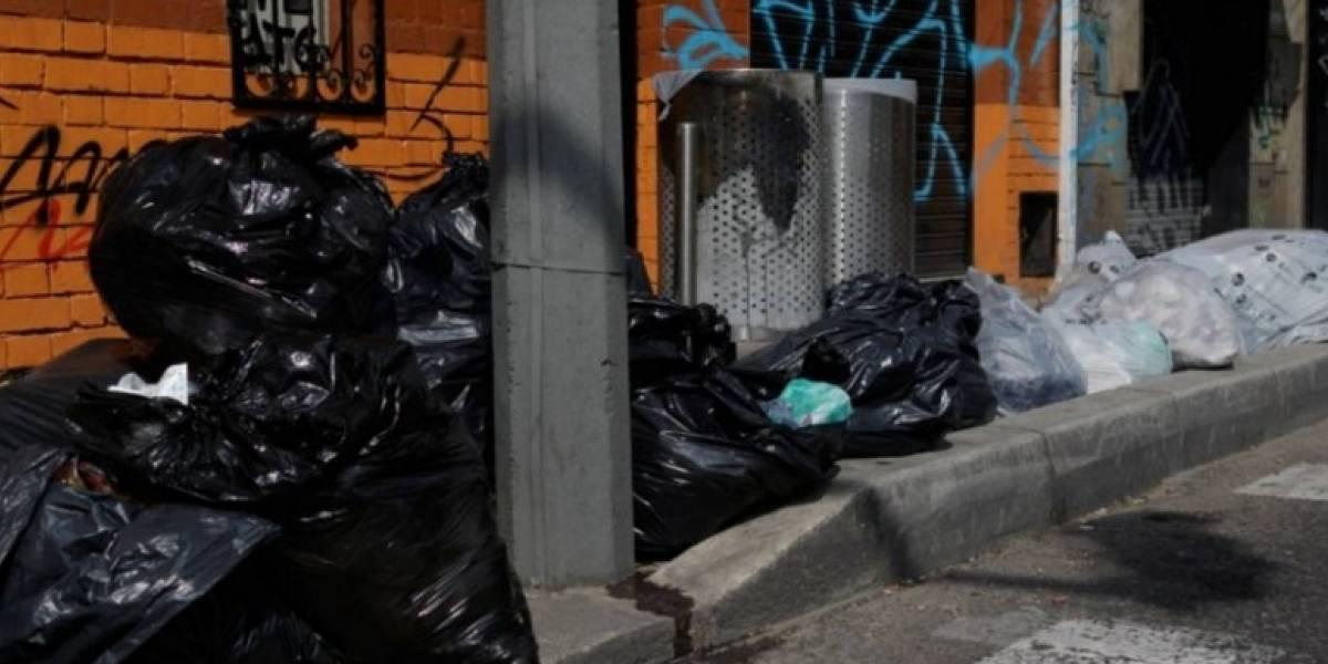 La crisis de las basuras sigue afectando Bogotá