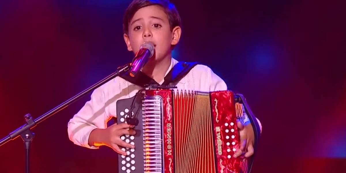 [VIDEO] Esta fue la canción con la que Juanjo, participante de La Voz Kids, conmovió en redes sociales
