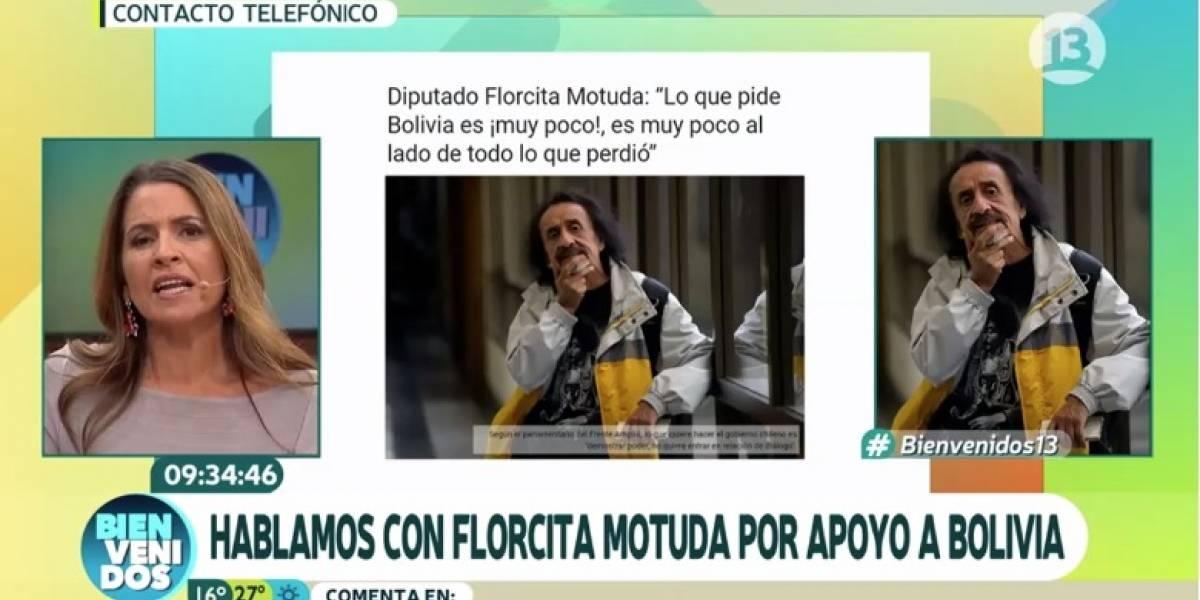"""""""No eres experto, pero eres diputado"""": La molestia de Monserrat Álvarez y el panel de """"Bienvenidos"""" por la """"falta de argumentos"""" de Florcita Alarcón al pedir mar para Bolivia"""
