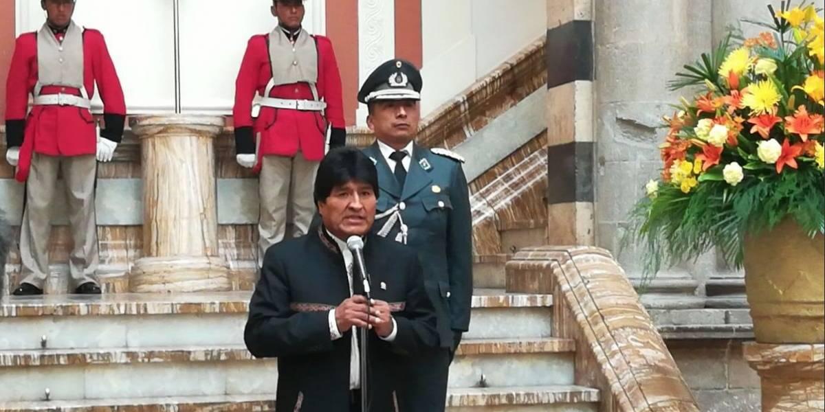 El nuevo objetivo de Evo: posicionar a Chile como un país que no cumple sus compromisos diplomáticos