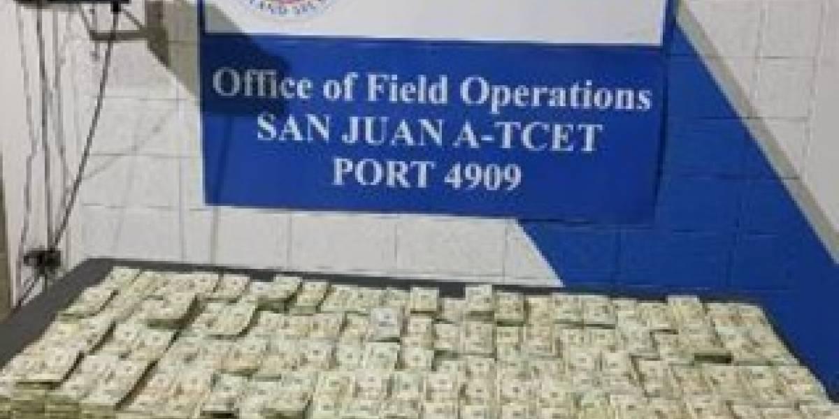 Federales incautan más de 800 mil dólares en ferry procedente de R.D.