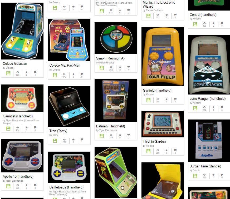 Internet Archive Revive Docenas De Juegos De Consolas Portatiles