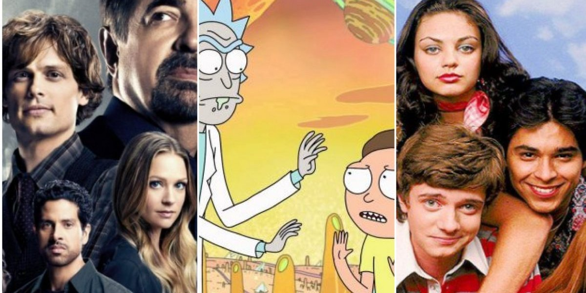 Ricky and Morty, That '70s Show, Criminal Minds e outras 17 séries que deixam a Netflix em abril
