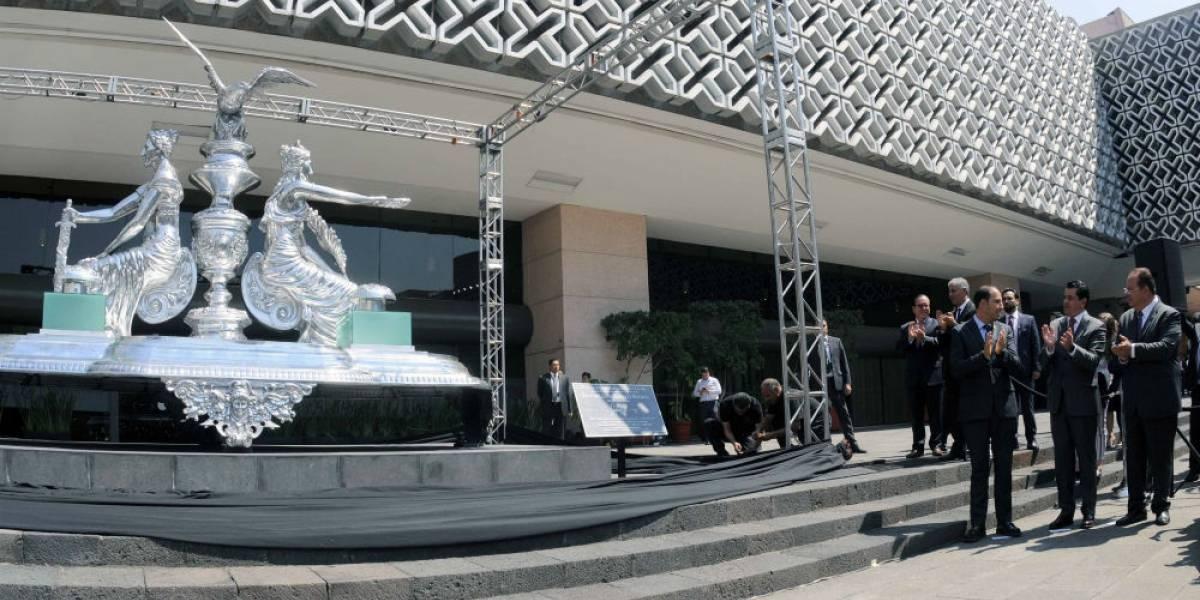 Diputados estrenan escultura de dos millones 250 mil pesos