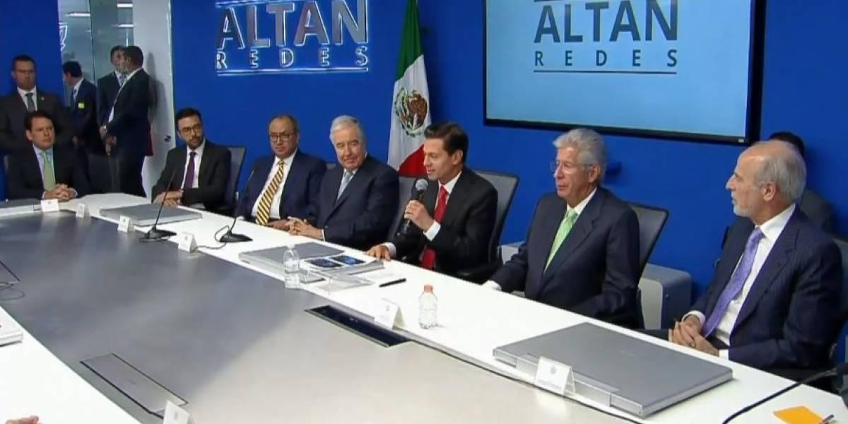 Red Compartida convertirá a México en el tercer país más conectado: Peña Nieto
