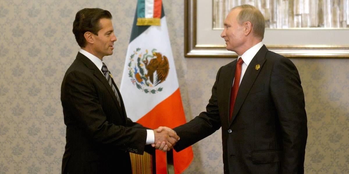 Peña Nieto felicita a Xi Jinping y a Vladimir Putin por sus reelecciones