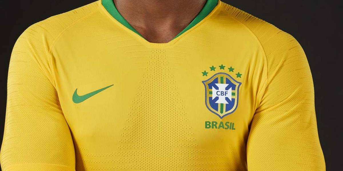 CBF divulga foto oficial da seleção brasileira na Copa da Rússia 2018
