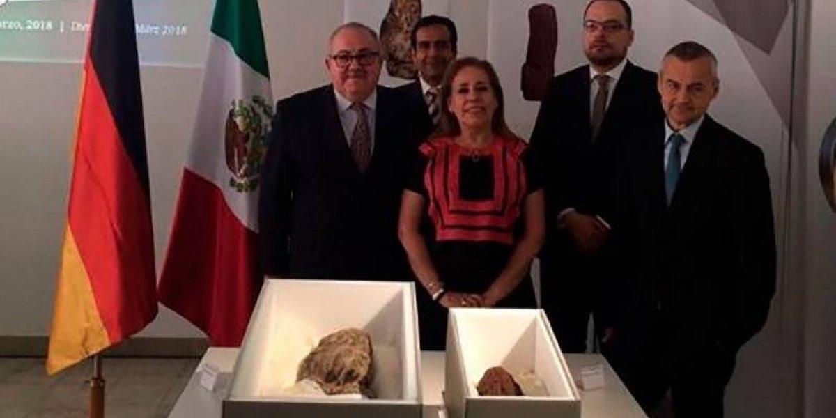 México recupera en Alemania dos piezas olmecas de la polémica colección Patterson