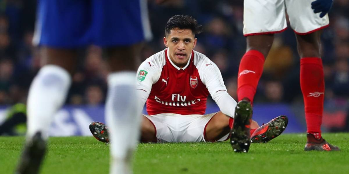 """""""El camarín del Arsenal odiaba a Alexis Sánchez"""": la dura revelación sobre el chileno en Inglaterra"""