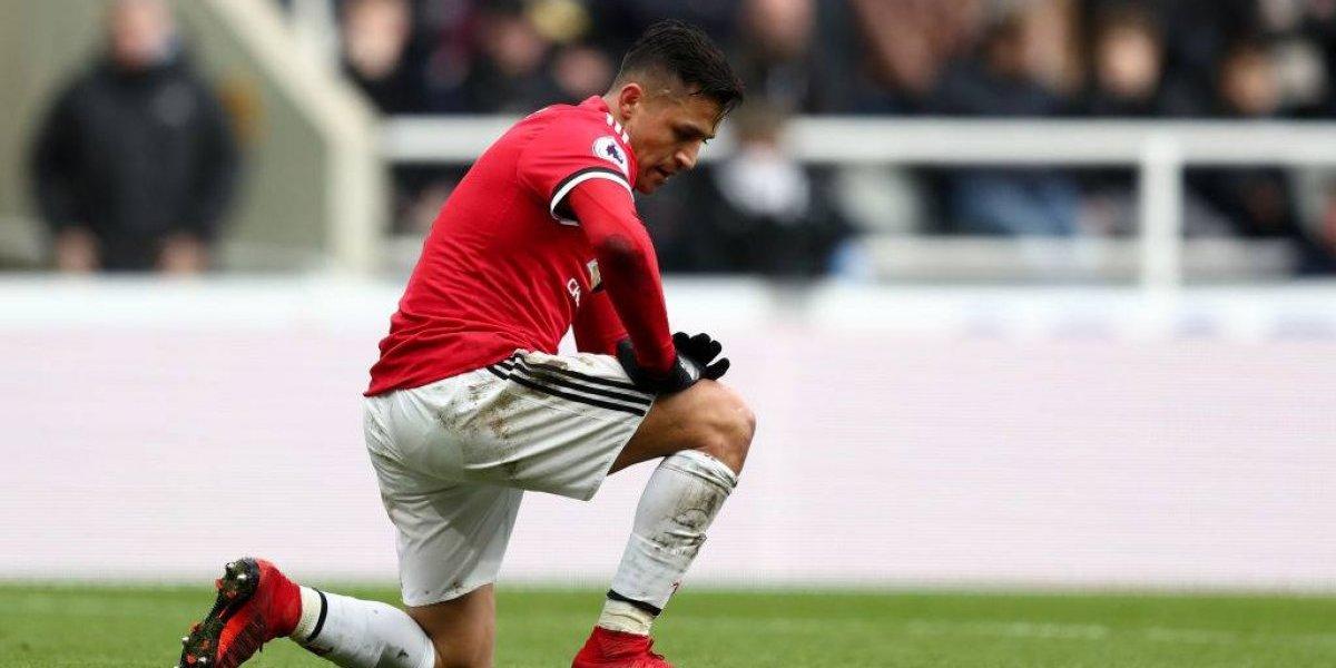 """Alerta en el United por Alexis: """"Se ve como una persona que no quiere estar aquí"""""""