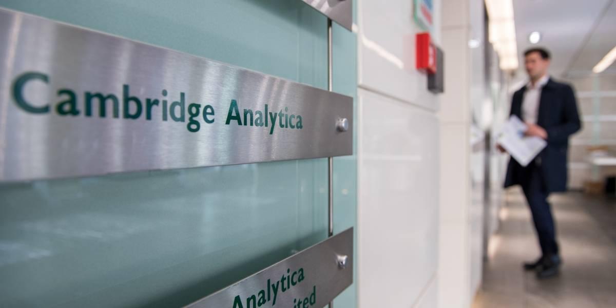 """Académico se dice """"chivo expiatorio"""" en caso Cambridge Analytica y Facebook"""