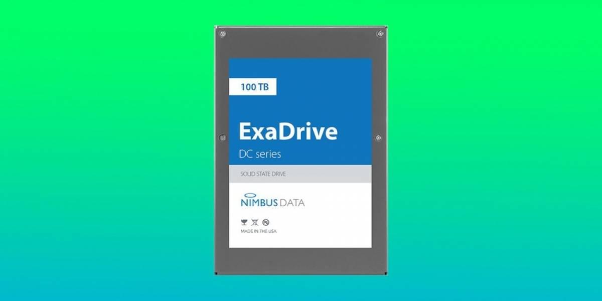Nimbus anuncia el SSD con mayor espacio de almacenamiento del mercado