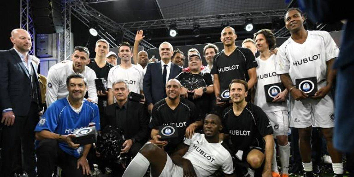 FOTOS. Con varias estrellas presentan reloj que usarán los árbitros en el Mundial