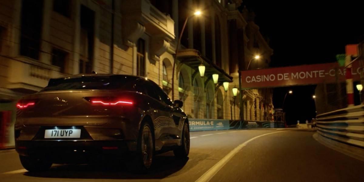 El Jaguar I-Pace se luce en los caminos de Mónaco