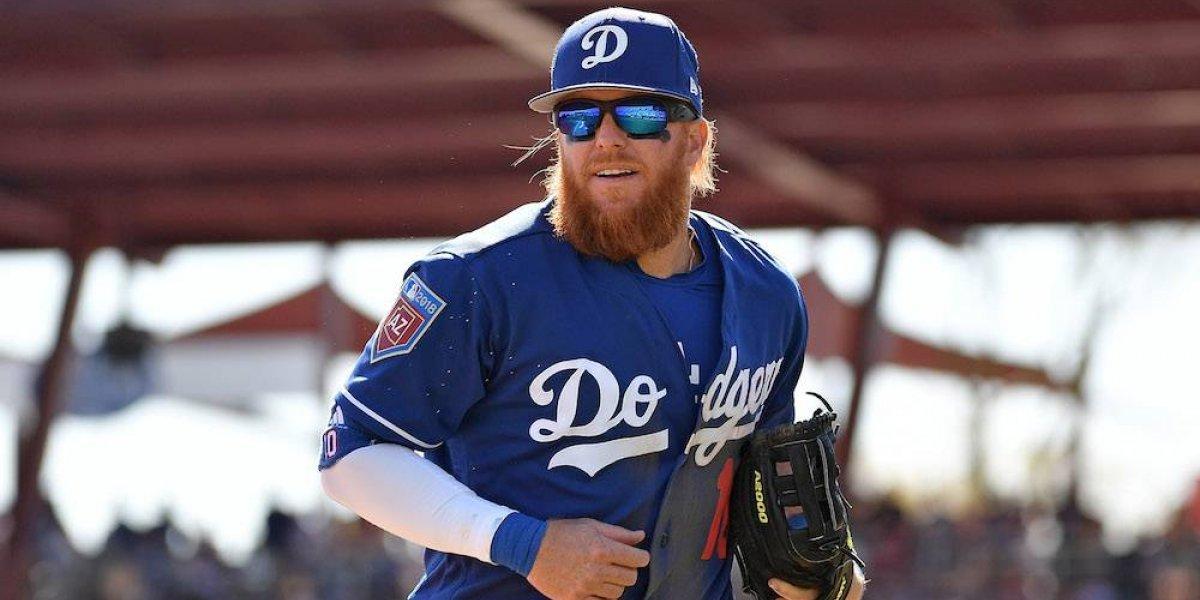 Bebé preocupado por lesión de Justin Turner conmovió al jugador de Dodgers