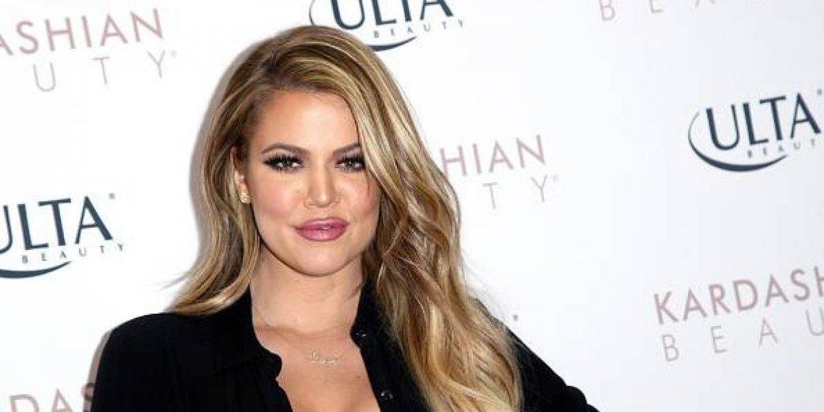 Khloé Kardashian se encuentra a pocos días de convertirse en madre