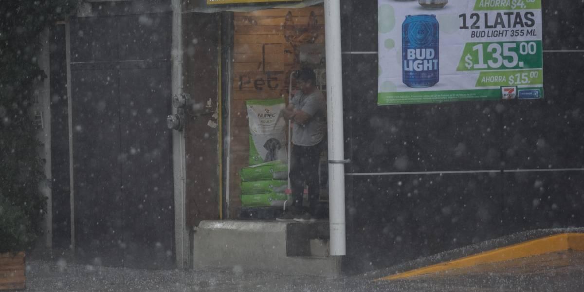Frente frío 38 provocará bajas temperaturas, calor intenso y lluvias fuertes en casi todo el país