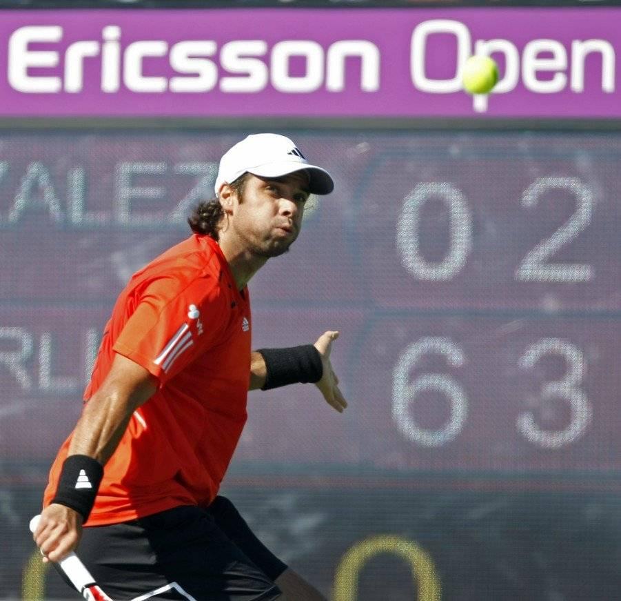 Fernando González llegó a cuarta ronda en Miami 2010 / Foto: AP