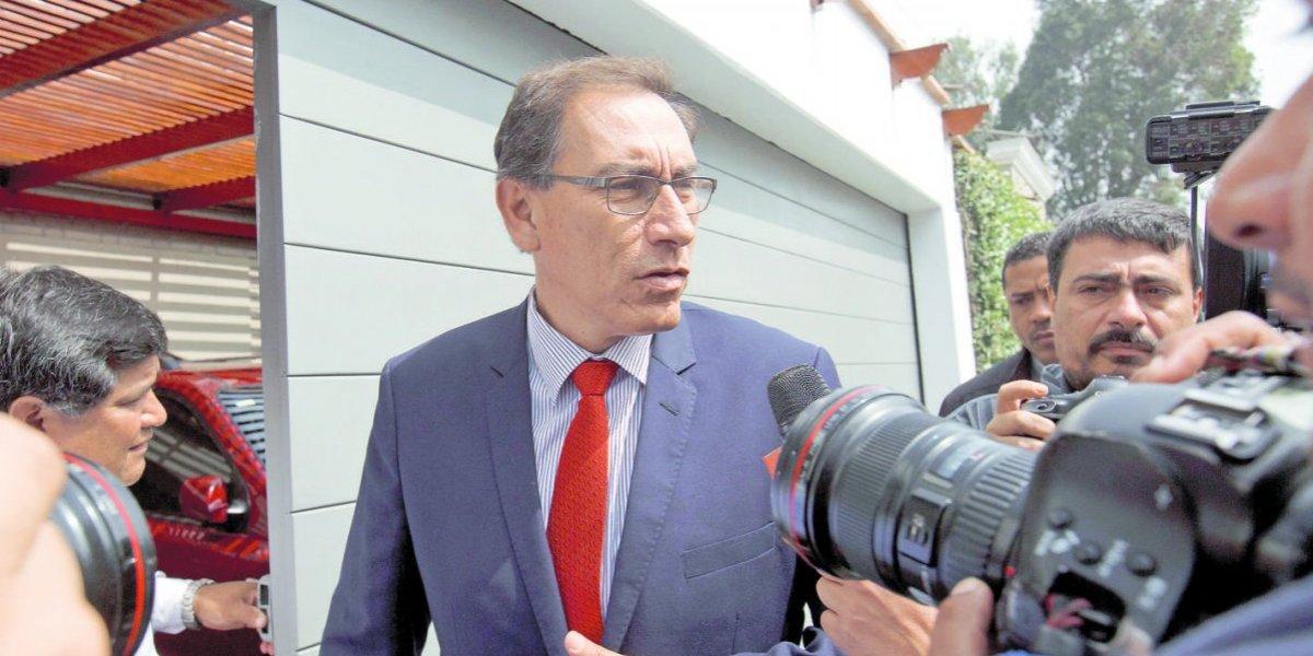 El vicepresidente Martín Vizcarra asumiría la presidencia