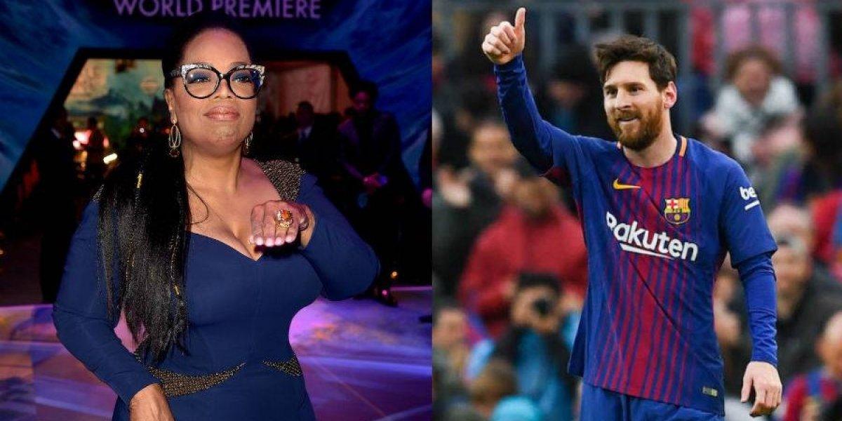 El contundente mensaje de Oprah Winfrey a Messi