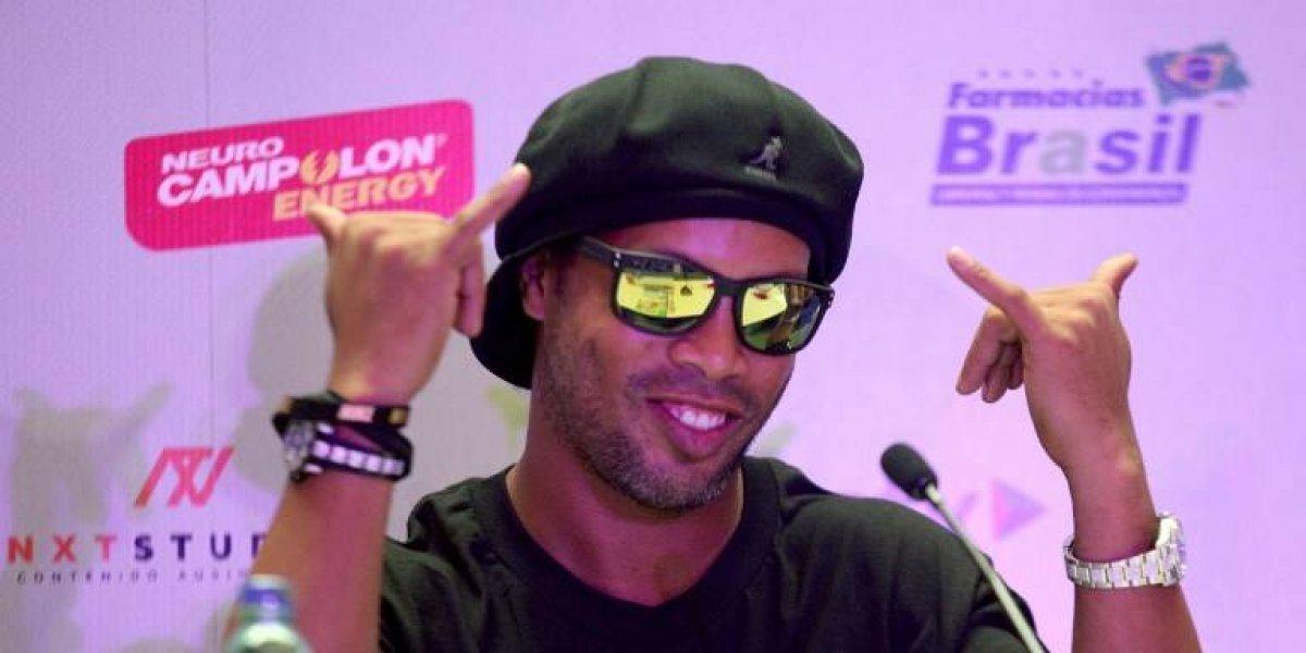Ronaldinho se inicia en la política con un partido evangélico