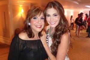 Grace Fontecha y María Gabriela Isler