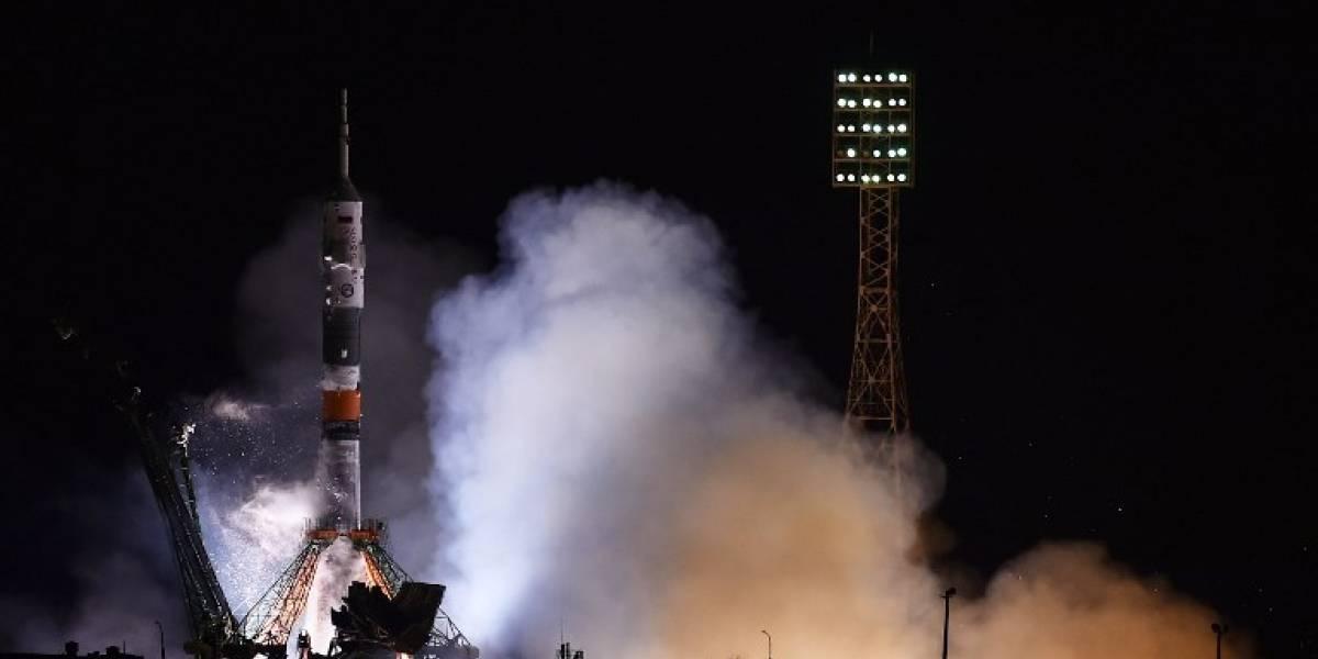 VIDEO.Así fue el lanzamientode la nave espacial Soyuz MS-08 hacia la EEI