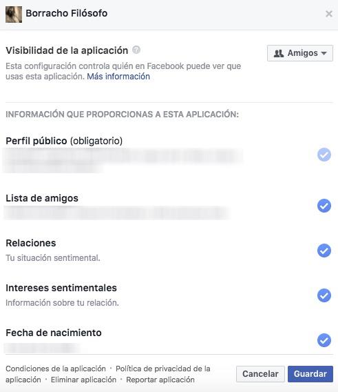 Facebook: así puedes saber qué aplicaciones tienen acceso a tus datos como Cambridge Analytica