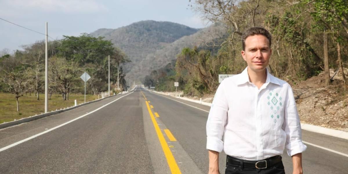 Gobierno del estado mejora la red carretera de Chiapas