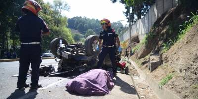accidente de tránsito en zona 16