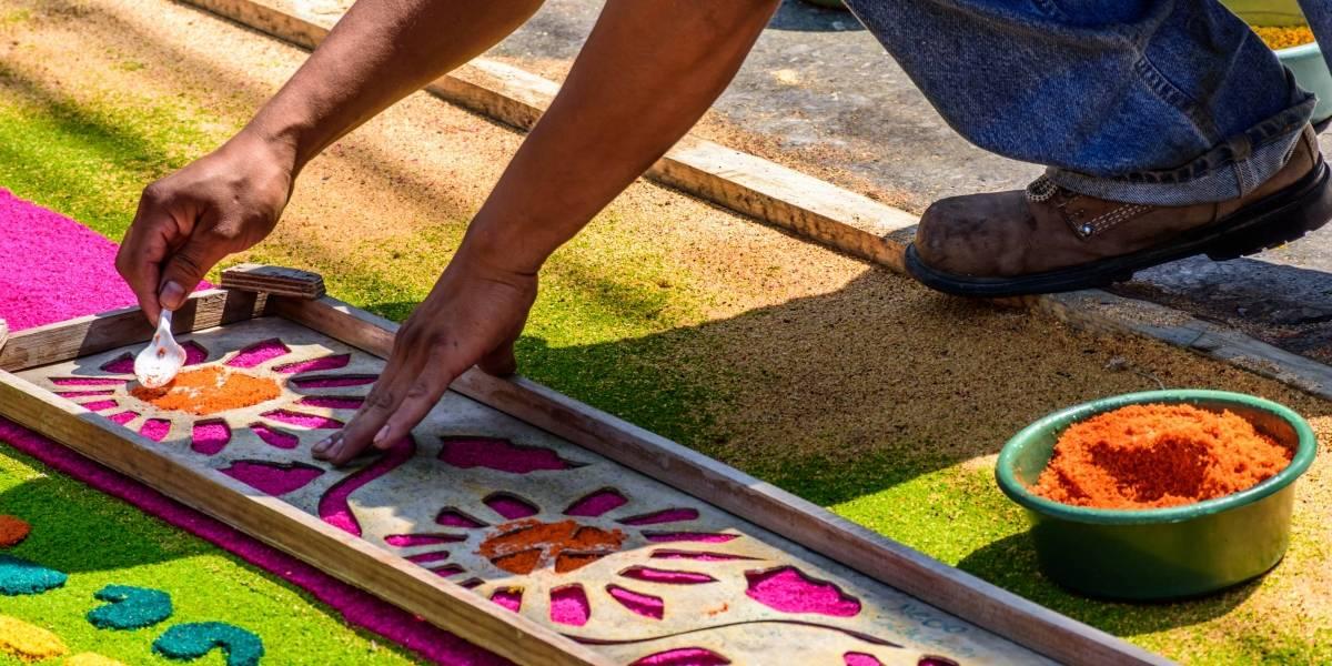 ¡Participa en la alfombra del Paseo de la Sexta este Jueves Santo!