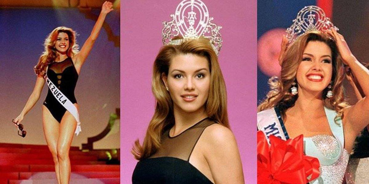 Alicia Machado habla del escándalo en Miss Venezuela