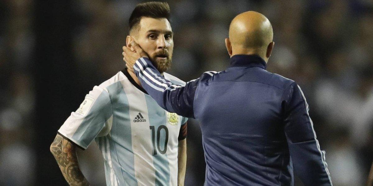 """El humilde Jorge Sampaoli: """"La selección argentina es más de Lionel Messi que mía"""""""
