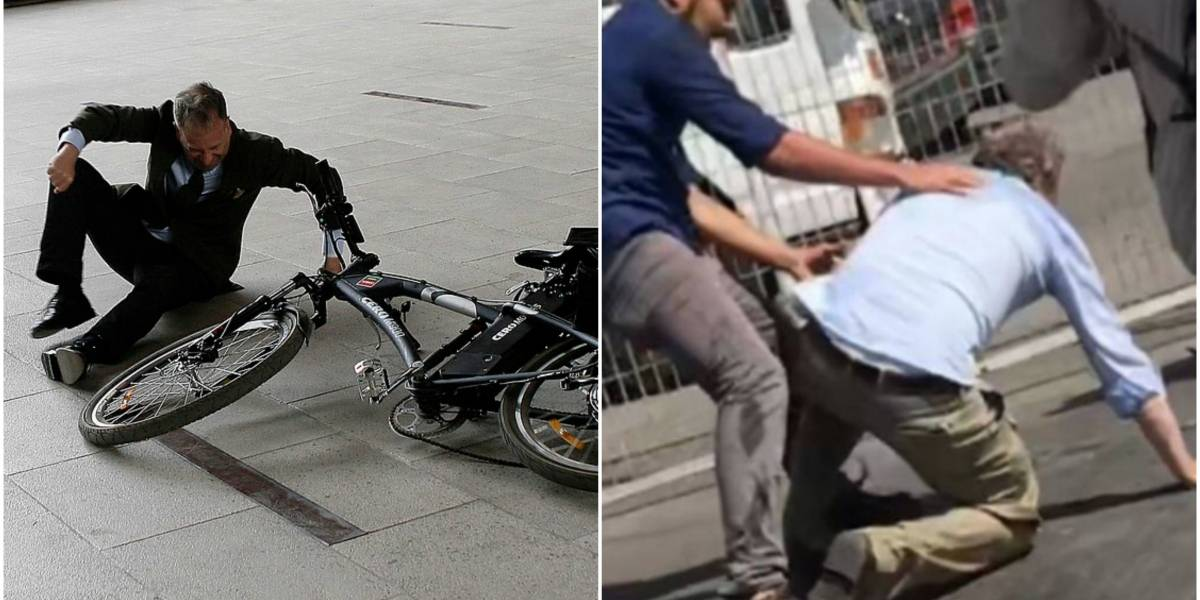"""""""Si llegai en bici, sólo reiríamos"""": Tomás Jocelyn-Holt se compara con J.A.Kast, dice que también hubiera sido agredido en la U. Arturo Prat y se gana feroz troleo"""