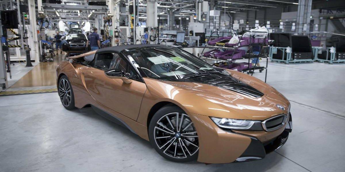 El BMW i8 Roadster ahora será producido en serie