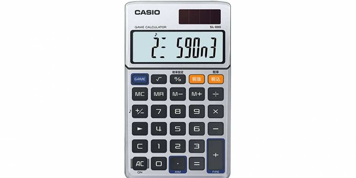 Casio revive su mítica calculadora musical que fue ultra popular en los 80