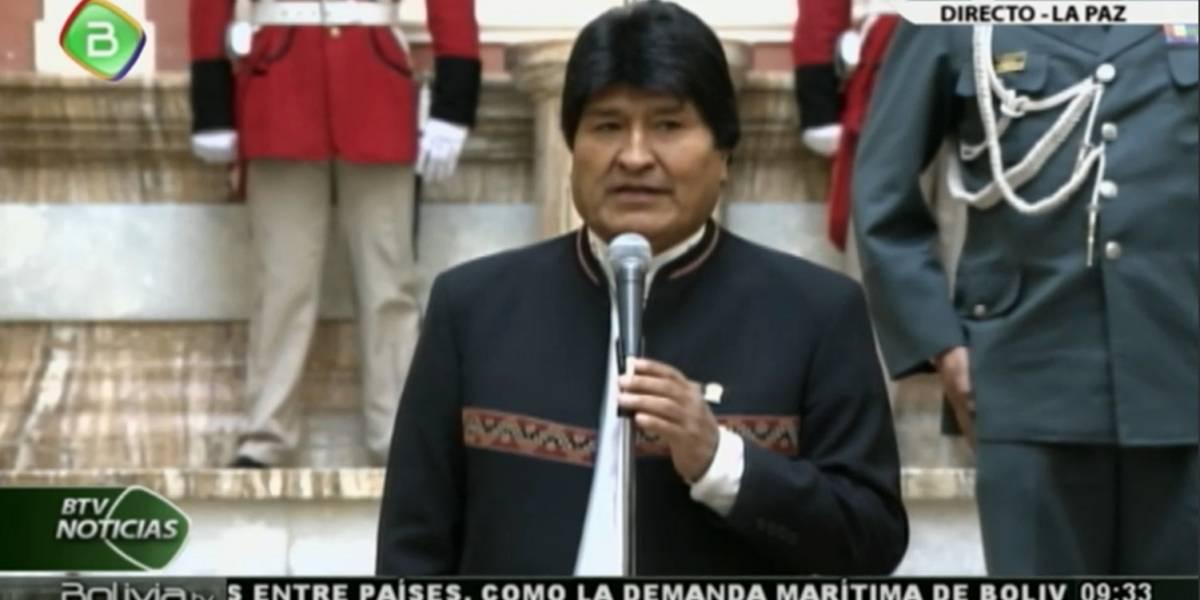"""Evo Morales ataca a los abogados chilenos: """"Ninguno ha demolido todas las pruebas que ha presentado nuestra defensa"""""""