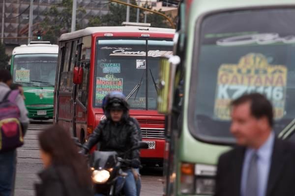 Buses de SITP provisional